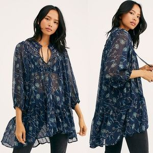 NWT Free People Keeping up with Kara Tunic